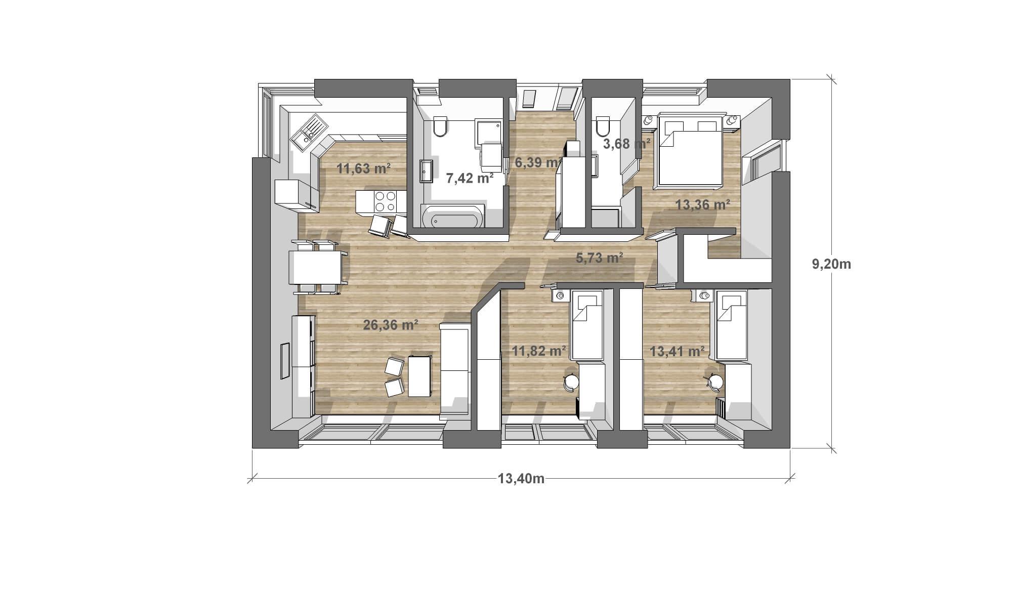 house-100